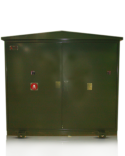 Pad Mounted Switchgear Close