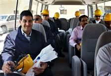 KFUPM Professors visit TIEPCO, Arab Steel & Power Plant